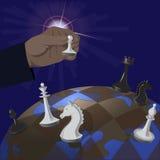 Illustrazione di politica globale Fotografia Stock Libera da Diritti