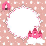 Illustrazione di principessa Abstract Background Vector illustrazione vettoriale
