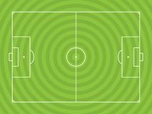 Illustrazione di Soccerfield illustrazione vettoriale