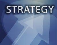 Illustrazione di strategia Immagine Stock