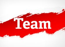 Illustrazione di Team Red Brush Abstract Background royalty illustrazione gratis
