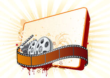 illustrazione di tema di film Fotografia Stock Libera da Diritti