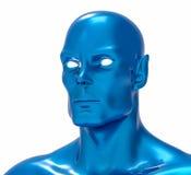 illustrazione di umanoide di romanzo isolata 3D Fotografia Stock Libera da Diritti