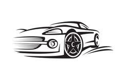 Illustrazione di un'automobile Immagini Stock Libere da Diritti
