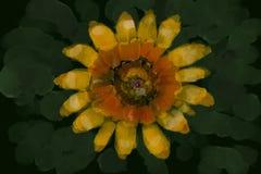 illustrazione di un fiore fotografie stock
