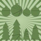 Illustrazione di un fondo di Natale Royalty Illustrazione gratis