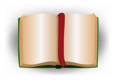 Illustrazione di un libro in bianco Fotografia Stock Libera da Diritti