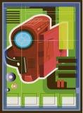 Illustrazione di un magnetoscopio Immagini Stock Libere da Diritti