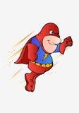 Superman di volo royalty illustrazione gratis
