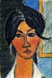 Illustrazione di una donna illustrazione vettoriale