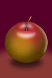 Illustrazione di una mela Illustrazione Vettoriale