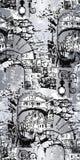 Illustrazione di Venecia Illustrazione di vettore Reticolo senza giunte illustrazione vettoriale