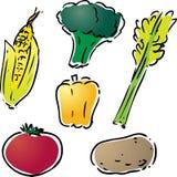 Illustrazione di verdure Fotografia Stock