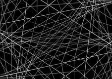 Illustrazione di vettore Astrazione con le linee d'intersezione sul da Fotografia Stock