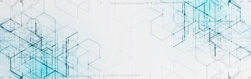 Illustrazione di vettore Backgrou di ingegneria e di tecnologia digitale illustrazione vettoriale