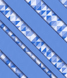 Illustrazione di vettore con il mosaico Immagini Stock Libere da Diritti