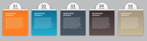 Illustrazione di vettore degli elementi di disegno di INFOGRAPHICS Fotografia Stock Libera da Diritti