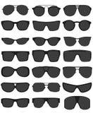 Illustrazione di vettore degli occhiali da sole Fotografie Stock Libere da Diritti