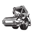 Illustrazione di vettore degli schiacciasassi royalty illustrazione gratis