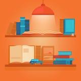 Illustrazione di vettore dei libri Immagine Stock Libera da Diritti