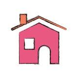 Illustrazione di vettore del bene immobile della Camera Fotografia Stock Libera da Diritti
