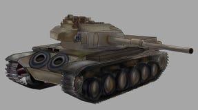 Illustrazione di vettore del carro armato Immagini Stock Libere da Diritti