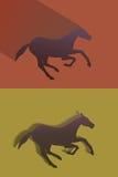 Illustrazione di vettore del cavallo Fotografie Stock