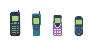 Illustrazione di vettore del cellulare del telefono cellulare illustrazione vettoriale