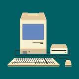 Illustrazione di vettore del computer Fotografia Stock Libera da Diritti
