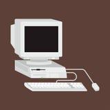 Illustrazione di vettore del computer Fotografie Stock