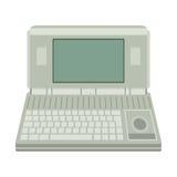 Illustrazione di vettore del computer Fotografia Stock