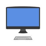 Illustrazione di vettore del computer Immagini Stock Libere da Diritti