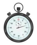 Illustrazione di vettore del cronometro nero illustrazione di stock
