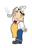 Illustrazione di vettore del cuoco Fotografia Stock