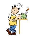 Illustrazione di vettore del cuoco Immagine Stock