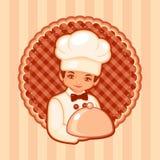 Illustrazione di vettore del cuoco Fotografie Stock