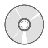 Illustrazione di vettore del dvd del CD Immagine Stock