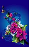 Illustrazione di vettore del fiore Immagini Stock
