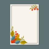 Illustrazione di vettore del fondo di autunno royalty illustrazione gratis