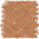 Illustrazione di vettore del fondo di struttura della parete di pietra del mattone Immagini Stock Libere da Diritti