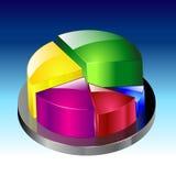 Illustrazione di vettore del grafico Fotografia Stock
