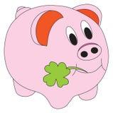 Illustrazione di vettore del maiale Fotografia Stock