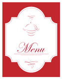 Illustrazione di vettore del menu Fotografie Stock