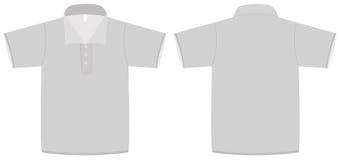 Illustrazione di vettore del modello della camicia di polo royalty illustrazione gratis