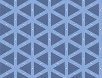 Illustrazione di vettore del modello geometrico senza cuciture Immagine Stock Libera da Diritti