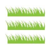 Illustrazione di vettore del modello di progettazione dell'icona dell'erba illustrazione vettoriale