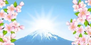 Paesaggio giapponese Immagine Stock Libera da Diritti