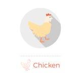 Illustrazione di vettore del pollo Royalty Illustrazione gratis