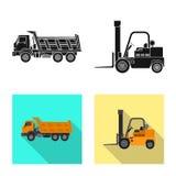 Illustrazione di vettore del segno della costruzione e di configurazione Insieme di configurazione e dell'illustrazione di riserv royalty illustrazione gratis