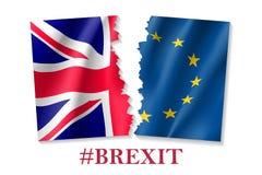 Illustrazione di vettore del simbolo di Brexit Fotografia Stock Libera da Diritti